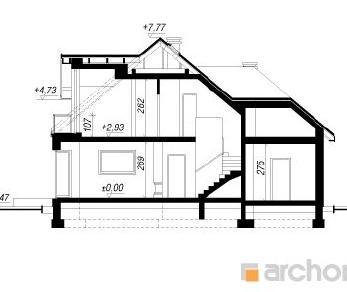 Проект  Дом в рукколе (Г2Н), 169.3 м2