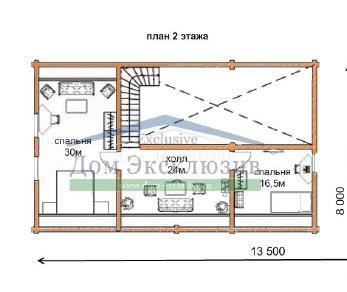 Проект дома Проект ДН-289, 233 м2