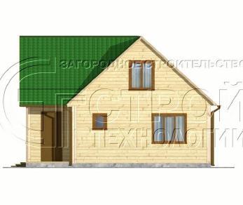 Проект дома Проект дома №1, 64 м2