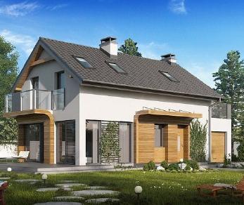 Проект дома Проект z298, 122.7 м2