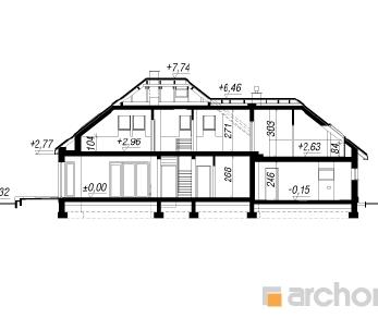 Проект  Дом в индигофери (Г2), 211.3 м2