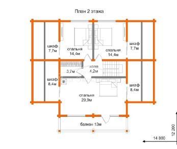 Проект дома Проект ДН-325, 324.59 м2