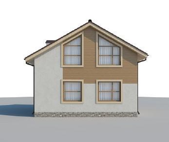 Проект дома AS-2053, 77 м2