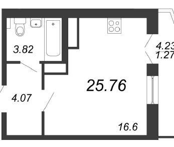 Продажа квартиры Мурино, Петровский бул.