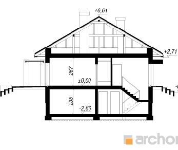 Проект  Дом под красной рябиной (ПН), 226.5 м2