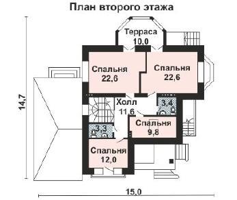 Проект дома AS-2173, 338 м2
