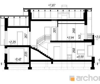 Проект  Дом в кардамоне 2, 161.7 м2