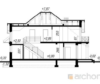 Проект  Дом в тимьяне, 164.5 м2