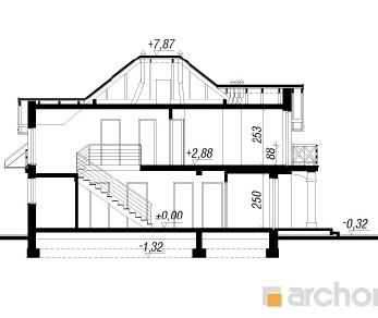 Проект  Дом в тимьяне 4, 188.2 м2