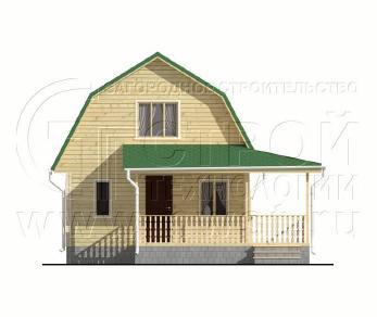 Проект дома Проект дома №104, 69.5 м2