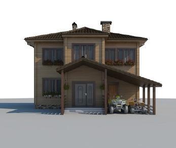 Проект дома AS-2015, 116 м2
