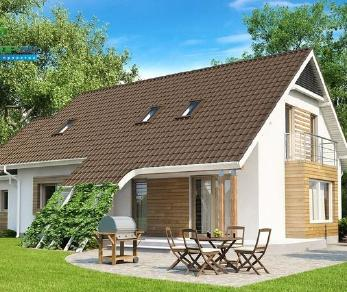 Проект дома Проект z103, 212.2 м2