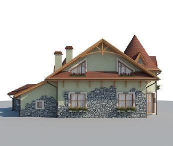 Проект дома AS-2218-2, 167 м2