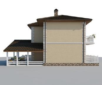 Проект дома AS-2015-2, 116 м2