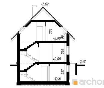 Проект  Дом под каштаном 2 (П), 157.4 м2