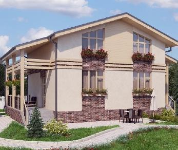 Проект дома AS-2023, 130 м2