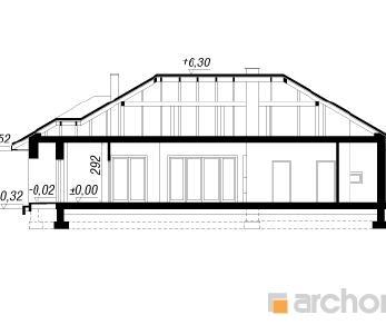 Проект  Дом в кипарисовике (Г2), 155.9 м2
