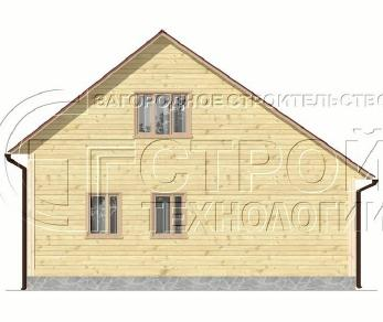 Проект дома Проект дома №12, 66.7 м2