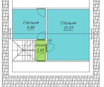 Проект  Проект 083/037 , 83 м2