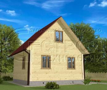 Проект дома Проект дома №8, 36 м2