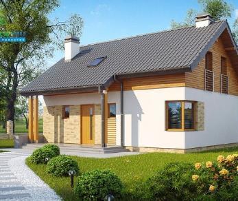 Проект дома Проект z210, 111.7 м2
