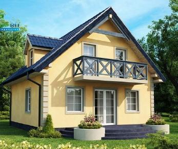Проект дома Проект z1, 108.5 м2