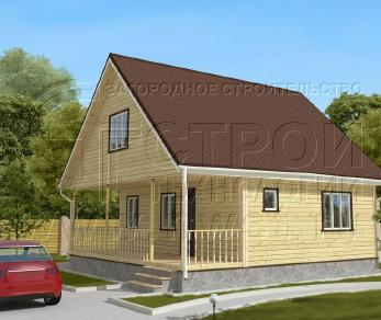 Проект дома Проект дома №98, 64 м2