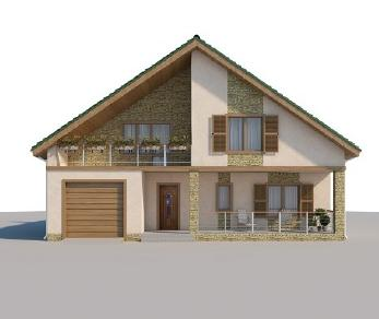 Проект дома AS-320, 217.7 м2