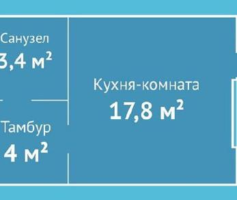 Продажа квартиры Коммунар, Железнодорожная ул., д.8
