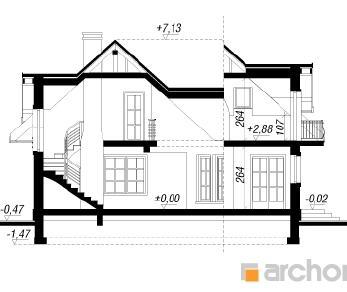 Проект  Дом в алоэ, 142 м2