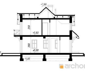 Проект  Дом в землянике 4, 135.9 м2