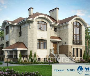 Проект дома M180, 436 м2