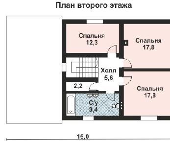 Проект дома AS-2163, 180 м2