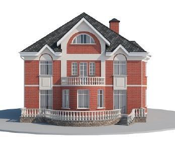 Проект дома AS-2164, 388 м2