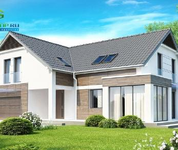 Проект дома Проект z138, 281.4 м2