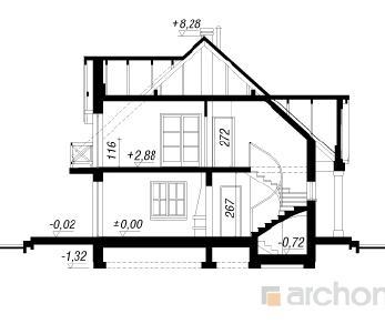 Проект  Дом в гладиолусах 2, 171.5 м2
