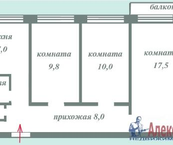 Продажа квартиры Всеволожск, Плоткина ул., д.15