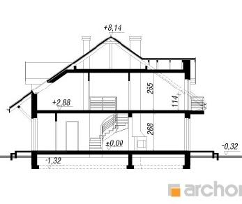 Проект  Дом в дельфиниуме 3, 222.6 м2