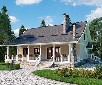 Проект дома AS-2184, 241 м2