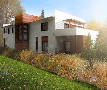Проект  Дом в стиле хайтек, 546 м2