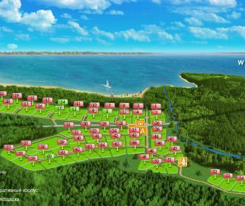 Коттеджный поселок Три берега