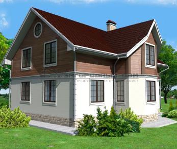 Проект дома Снегирево, 165 м2