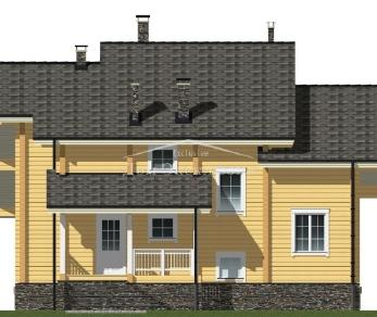 Проект  Проект Д-220, 319.4 м2