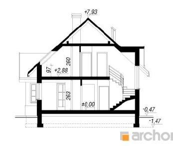Проект  Дом в мандаринках (Г), 149.2 м2