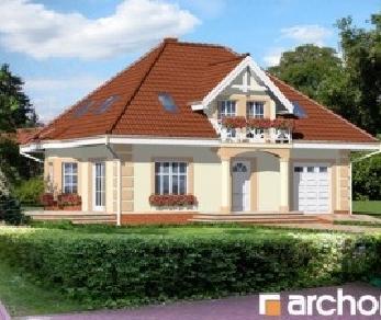 Проект  Дом в бархатцах, 139.4 м2