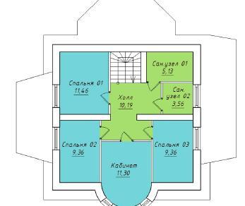 Проект  Проект 145/013 , 145 м2