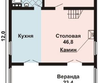 Проект дома AS-2132-2, 180 м2