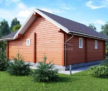 Проект дома Проект БН-114, 101.6 м2
