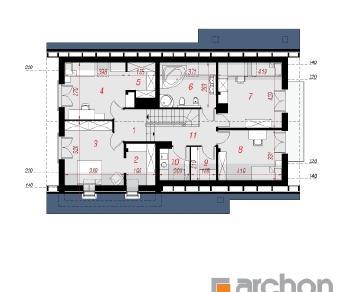 Проект  Дом в айдаредах (Г2), 198.2 м2