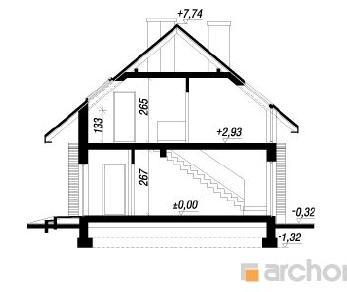 Проект  Дом под рисовым деревом, 155 м2